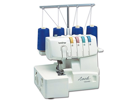 2. Brother 1034D 3/4 Thread Serger with Differential Feed