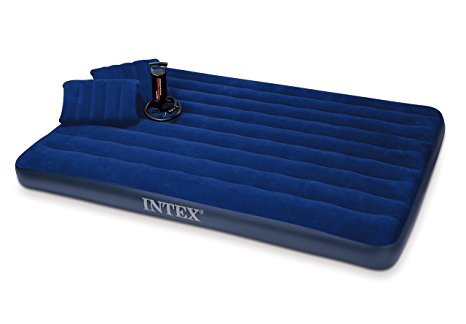 5. Intex 68765E Classic Downy Airbed