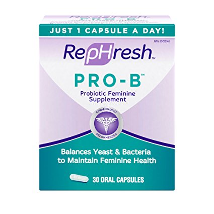 2. RepHresh Pro-B Probiotic Feminine Supplement