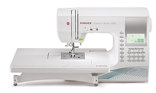9. Singer Quantum Stylist 9960 Computerized Portable Sewing Machine