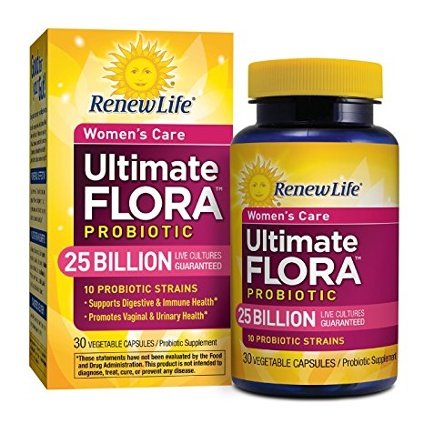 3. Renew Life - Ultimate Flora Probiotic Women's Care