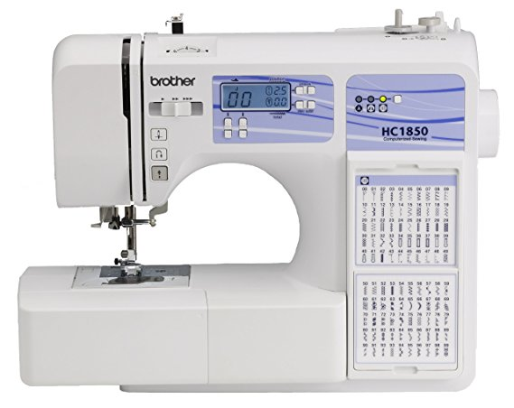 8. Brother HC1850 Computerized Sewing and Quilting Machine