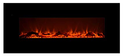 1. Touchstone 80001 Onyx Wall Hanging Electric Fireplace