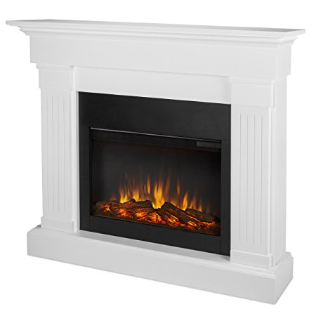 3. Real Flame 8020E-W Crawford Electric Fireplace