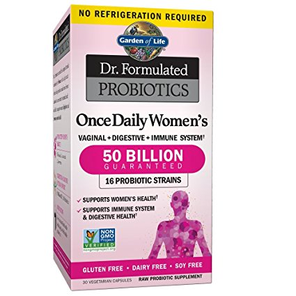 1. Garden of Life Women's Probiotic
